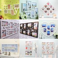 Family Love Wall Decor Picture Collage Frame Photo Display Wedding Birthday Gift