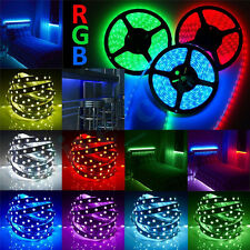 5m-50m RGB 5050 SMD 60LEDs/m LED Light Strip Flexible Non-Waterproof IP65/67 12V