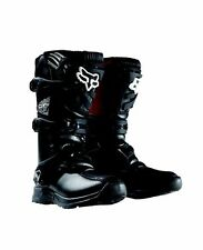 FOX RACING BLACK COMP 3Y OFFROAD YOUTH BOOTS SIZES 2-8 FREE SHIPPING