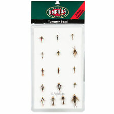 Umpqua Tungsten Bead Trout Fly Fishing Deluxe & Guide Fly Selections Assortment
