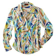 NEW! Missoni Blouse Shirt Work & Play Top -Pink, Blue or Red Floral, B&W Chevron