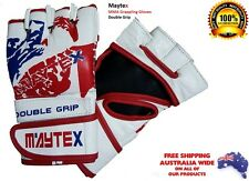 Cow Hide Leather MMA Boxing Gloves Authentic Maytex