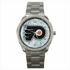 Flyers Mens Stainless Steel Watches - NHL Hockey