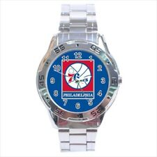 Philadelphia 76ers Stainless Steel Watches - NBA Basketball
