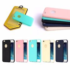 Ultra Thin Soft Silicone Rubber Back Case Cover Skin For iPhone Samsung