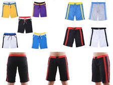 Mens Gym Sports Shorts Casual Jogging Loose Soft Pants Tie Rope Underwear M-XL