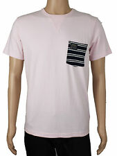 NEW Duck & Cover Mens Size M L Crew Neck Pink T Shirt