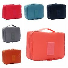 1x Travel Cosmetic Makeup Toiletry Case Wash Organizer Storage Pouch Bag LAN