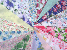 Fabric Bunting Wedding Vintage Shabby & Chic Handmade Floral Lace 3 10 20 40ft