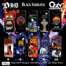 BLACK SABBATH, OZZY, DIO Rock Band Case For All iPhone Models