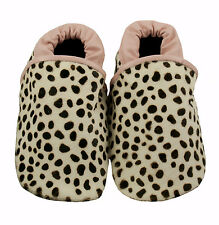 NEW Pounce into the wild leather baby shoes Girl's by Cheeky Little Soles