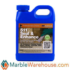Miracle 511 Seal & Enhance Tile and Stone Sealer for floor counter top Quart