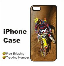 Mike Alessi Motocross Racing New Black Case Cover iPhone 4s 5s 5c 6 6+ 6s 6s+ #S