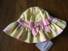 Gymboree Girls 0-3 3-6 6-12 12-18 Months Yellow Pink Easter Celebrations Hat NWT