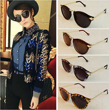Women's Unisex Mens Sunglasses Arrow Style Eyewear Round Sunglasses Metal Frame