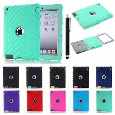 Shock Dirt Proof Hybrid Heavy Duty Hard Case Cover Sleeve For Apple iPad 2 3 4