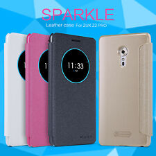NILLKIN Fashion Sparkle Flip Matte PU Leather Phone Cases Covers For ZUK Z2 PRO