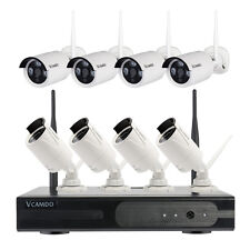 Outdoor Home Wireless Security CCTV System 8CH Kit NVR Camera Hard Drive Select