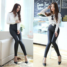 Women's High Waist Skinny Long Trousers OL Casual Harem Fashion Slim Comfy Pants