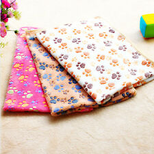 Hamsters Pad Pet Cat Mat Blanket Dog 3XColors Soft Bed Puppy Warm Coral Velvet 1