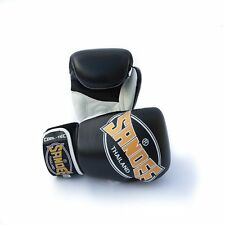 Sandee Cool-Tec Kids Muay Thai Boxing Gloves - Black-Gold