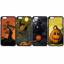 Halloween Pumpkin Bat Castle For Apple iPhone iPod & Samsung Galaxy Case Cover