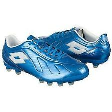 Lotto Futura 500 FG Mens Soccer Shoes - Blue Aster / White - N5565 Size 8