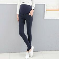 Hot Pregnant Women Skinny Maternity Trousers Cowboy Pencil Abdominal Jeans Pants