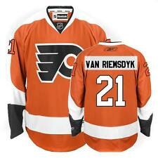 NHL Philadelphia Flyers Van Riemsdyk Premier Ice Hockey Shirt Jersey