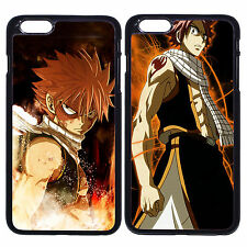 Anime Fairy Tail Natsu Fire For Apple iPhone iPod & Samsung Galaxy Case Cover
