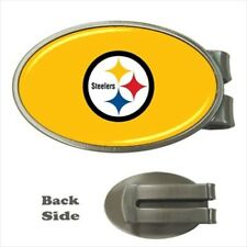 Pittsburgh Steelers Chrome Money Clip - NFL Football