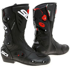Sidi Roarr Armoured Motorcycle Road Race Boots -  Black