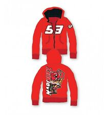 KIDS Marc Marquez 93 Red Hoody/Hoodie Official MotoGP Merchandise Child/Boys