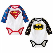 Baby clothes infant  baby boy summer clothes 100% cotton bodysuit superboy