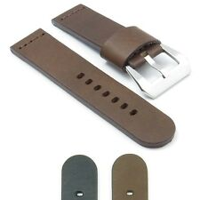 DASSARI Phantom  Leather Watch Strap Vintage Matte Mens Band for Panerai