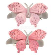 Crystal Rhinestone Butterfly Hair Pin Barrette Clip Clamp Hair Accessoryip