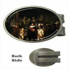 Rembrandt The Night Watchman Chrome Money Clip