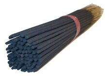 """Unscented Charcoal 10"""" Incense Sticks 100 - 400 grams & Free 10 Cones & Holder"""