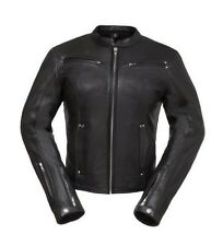 First Classics Ladies Speed Queed Leather Motorcycle Jacket FIL158CLMZ