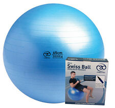 New Fitness Mad Studio Pro Weight Training Yoga Swiss Ball With Pump & DVD 300Kg