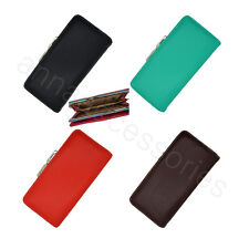 Women Lady Soft Synthetic leather Clutch Wallet Long Card Purse #8