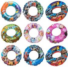 Childrens Kids Inflatable Swim Ring Swimming Pool Donut Beach Float Lilo Toy Aid