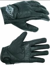 M2R AERO MOTORCYCLE GLOVES SHORT New! 3XL 4XL Dririder Leather Road