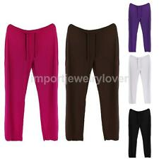 Women Soft Comfy Sports Pants Yoga Gym Exercise Fitness Running Loose Pants