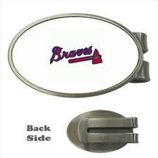 Atlanta Braves Chrome Money Clip - MLB Baseball