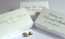 Wedding Party Favours 50 Cake Boxes or small Indian Sweets, only £14.72 inc. del