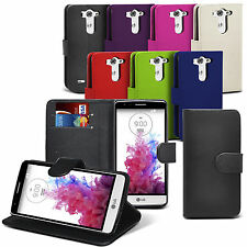 PU Leather Wallet Flip Case Cover Pouch For LG G3 S G3S Mini D722