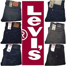 Levi's Men's 514 Slim Straight Jeans Many Sizes & Many Colors Free Shipping NWT