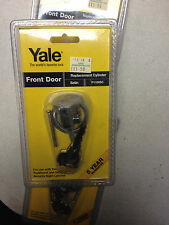 YALE P1109 BRASS REPLACEMENT CYLINDER WITH 2 KEYS NEW SEALED £8.99 DELIVERED