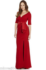 Coast Kate Red Maxi Long Dress Gown Brand New UK 8 10 12 14 £295